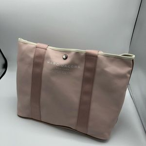 Marc Jacobs East West Canvas Tote, Pale Pink